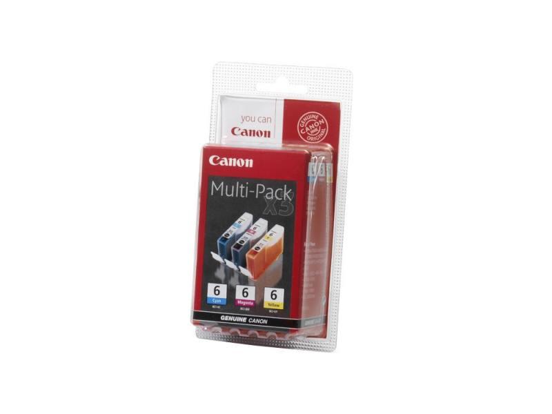 купить Картридж Canon BCI-6 C/M/Y для BJC-8200 i900D i9100 i950 i960 i9900 цветной по цене 1790 рублей