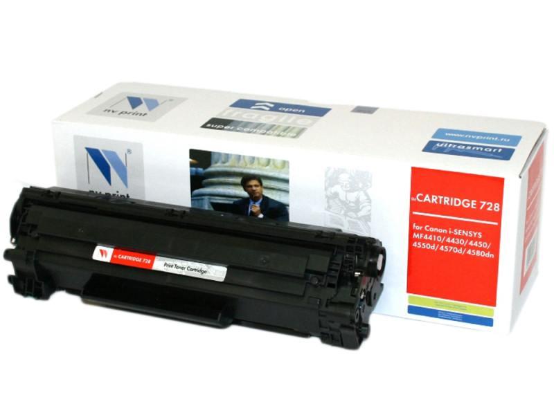 Картридж NVPrint Cartridge 728 для Canon 728 и для i-SENSYS MF4410 MF4430 MF4450 MF4550d MF4570dn MF