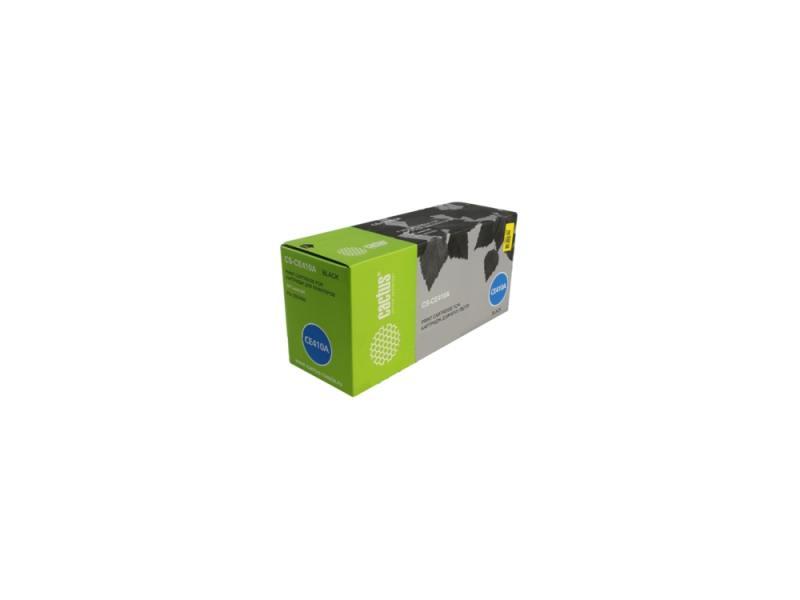 Картридж Cactus CS-CE410A для HP CLJ Pro 300 Color M351 /Pro 400 Color M451 черный 2200стр картридж cactus cs ce412a yellow for hp clj pro 300 color m351 pro 400 color m451
