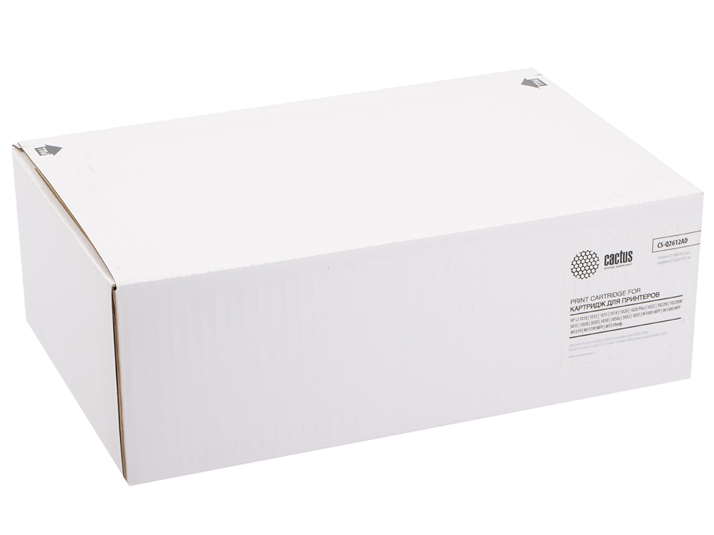 Картридж Cactus CS-Q2612AD для LaserJet 1010 1012 1018 1020 1022 двойная упаковка original second hand for hp1010 1010 formatter board q2465 60001 laserjet printer parts on sale