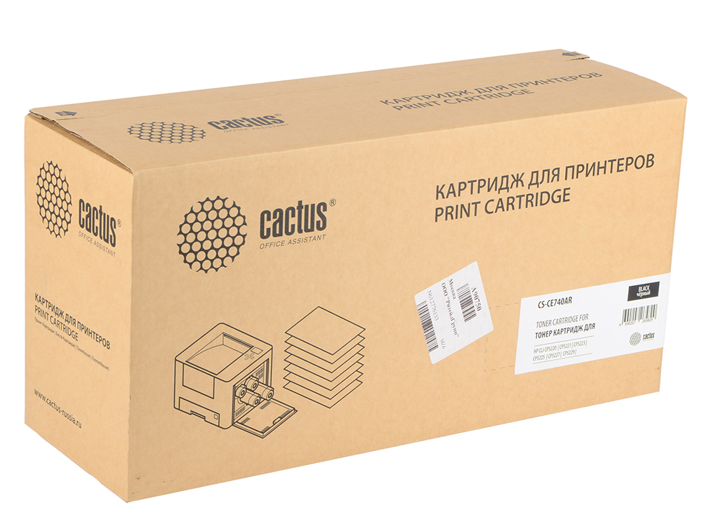 Тонер Картридж Cactus CS-CE740AR черный для HP LJ Pro CP5220/CP5221/CP5223 (7000стр.) usb type c pd wall charger fast charging power adapter for new macbook pro dell 9350 acer r13 samsung asus hp