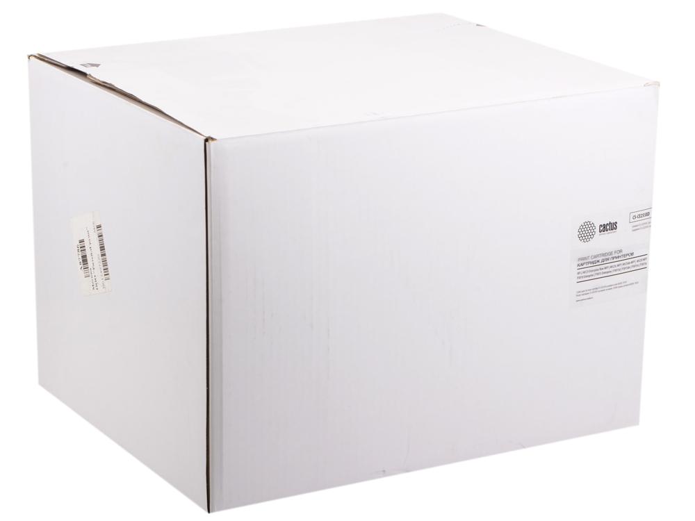 Тонер Картридж Cactus CS-CE255XD черный x2уп. для HP LJ P3015 картридж cactus cs ce260x для hp lj cp4025 cp4525 cm4540 черный 17000стр