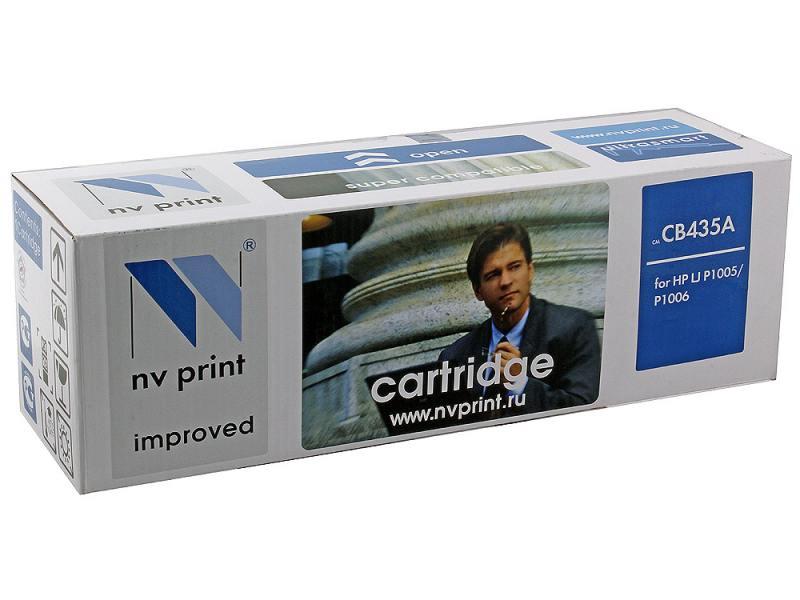 Картридж NV-Print CB435A для HP LJ P1005/P1006 картридж nv print ce255a для hp lj p3015