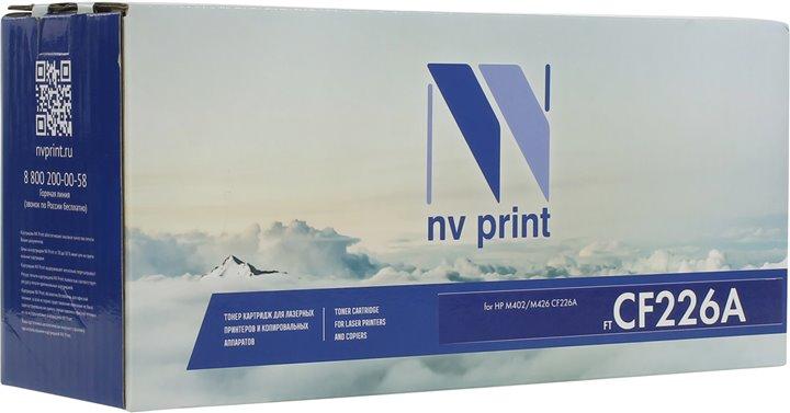 Картридж NV-Print CF226A для HP LJ Pro M402dn/M402n/M426dw/M426fdn/M426fdw черный 3100стр nv print nv hp lj p1005 black тонер для лазерных картриджей hp lj p1005