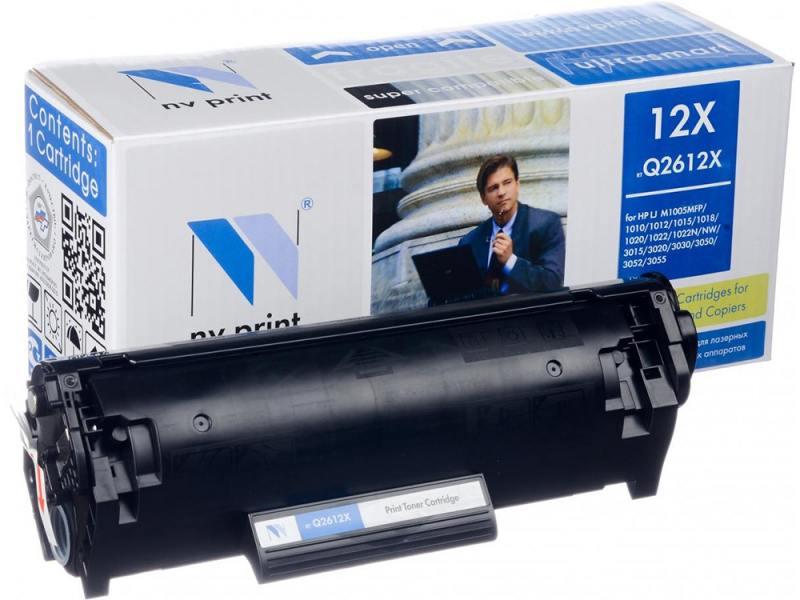 Картридж NV-Print Q2612X для HP LJ 1010 1012 1015 1020 1022 3015 3020 3030 черный 3500стр картридж nv print q2612a для hp lj 1010 1012 1015 1020 1022 3015 3020 3030 черный nv q2612a