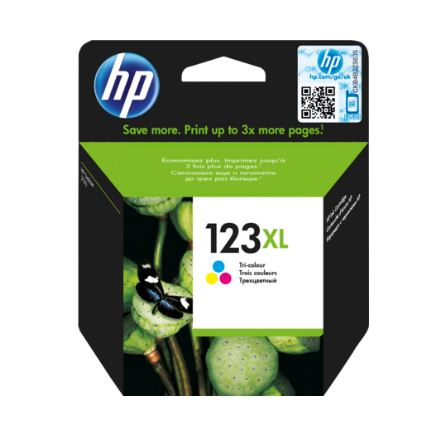 Картридж HP 123XL F6V18AE для DJ 2130 330стр цветной блок питания 4parts lac hp03 hp 18 5v 6 5a 7 4x5 0mm 120w