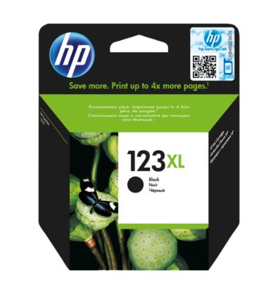 Картридж HP 123XL F6V19AE для DJ 2130 480стр черный