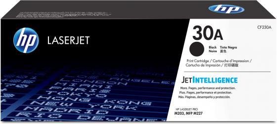 Картридж HP 30A CF230A для HP LaserJet Pro M203/M227 черный картридж hp 30a 1600стр cf230a