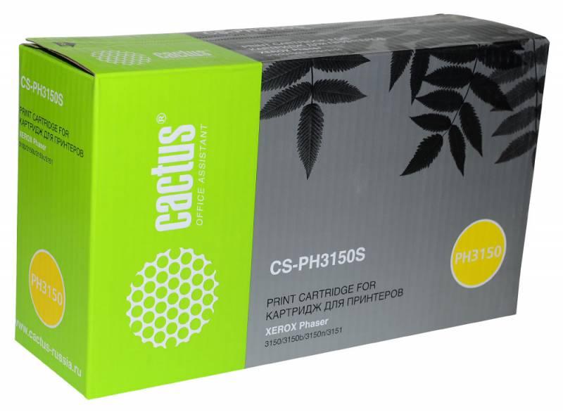 Картридж Cactus CS-PH3150S 109R00746 для Xerox Phaser 3150/3150b/3150n/3151 черный 3500стр r b parker s the devil wins