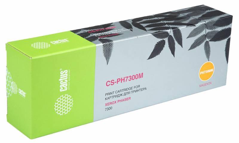 Тонер-картридж Cactus CS-PH7300M 16197800 для Xerox Phaser 7300 пурпурный 15000стр