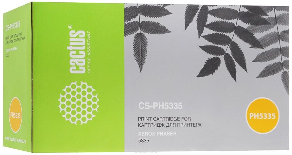 Тонер-картридж Cactus CS-PH5335 113R00737 черный 10000стр тонер картридж cactus cs ep22s