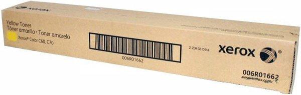 Картридж Xerox 006R01662 для C60/C70 желтый 34000стр картридж xerox 106r01633 желтый