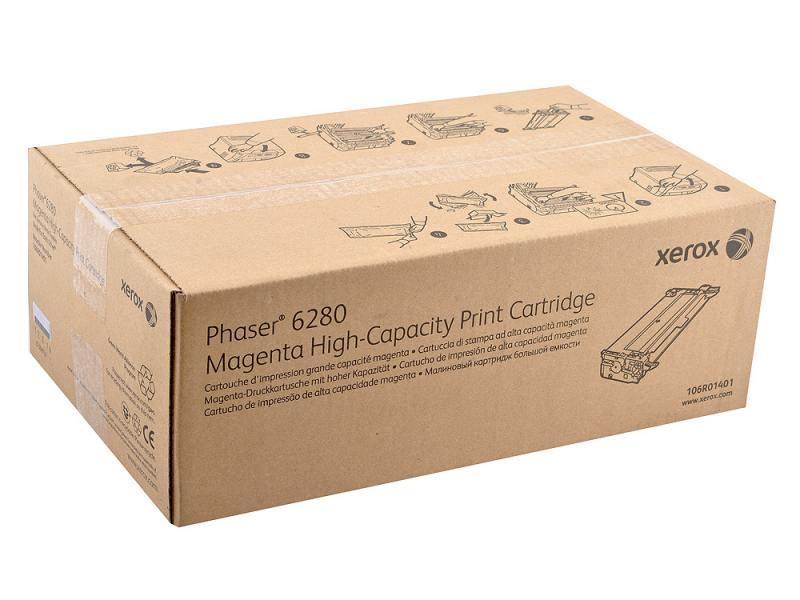 Картридж Xerox 106R01401 для Phaser 6280 пурпурный 5900стр тонер картридж xerox 106r01401 пурпурный для xerox ph 6280 5900стр