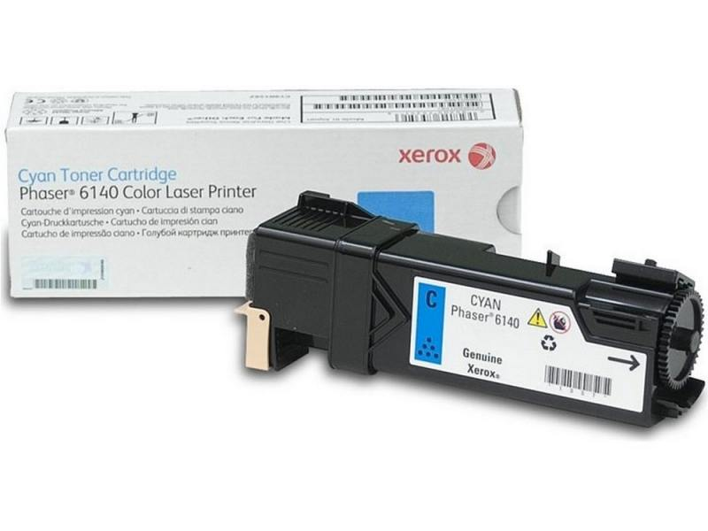 Картридж Xerox 106R01481 для Xerox Phaser 6140 голубой 2000стр картридж xerox 106r01634 black для phaser 6000 6010 2000стр