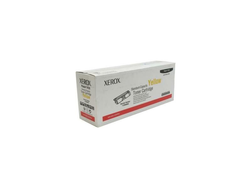 Картридж Xerox 113R00690 для Xerox Phaser 6120 Yellow 1500стр картридж xerox yellow 106r01442