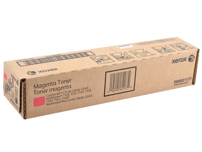 Картридж Xerox 006R01177 для WC 7328 7335 7345 7346 7228 35 45 C2128 C2636 C3545 Magenta 16000 стр tpxhm c7328 premium color toner powder for xerox workcentre copycentre wc c2128 c2636 c3435 c2632 c3545 1kg bag free fedex