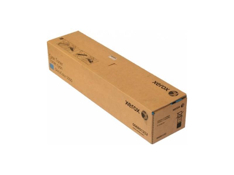 Тонер-Картридж Xerox 006R01252 для DC 5000 голубой картридж xerox 006r01273 голубой