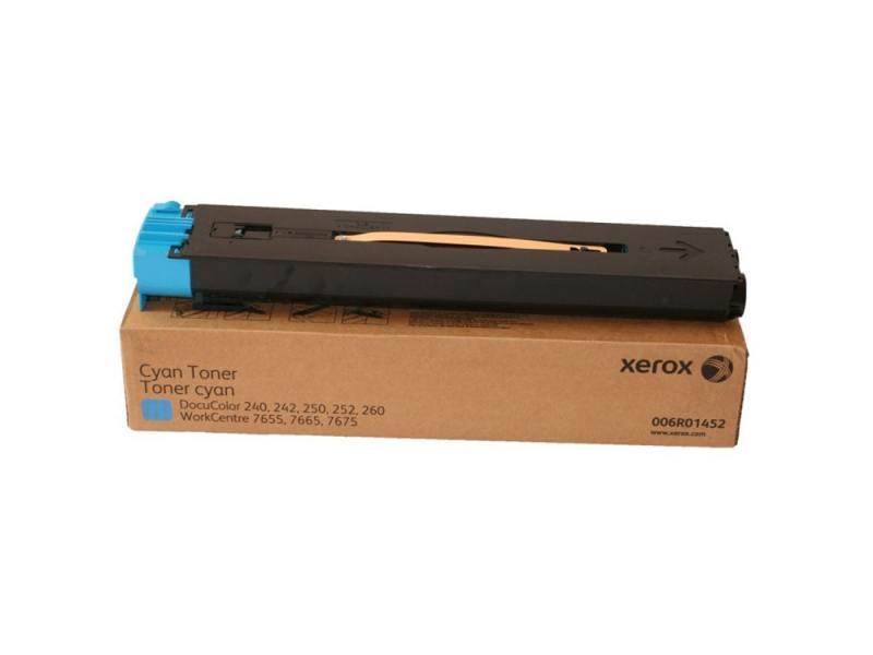 Тонер-Картридж Xerox 006R01452 для DC 240/250/242/252 WC7655/7665 голубой 34000стр тонер картридж xerox 006r01451 для dc 240 250 242 252 wc7655 7665 пурпурный 34000стр