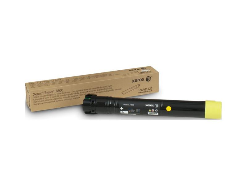 Тонер-Картридж Xerox 106R01625 для Phaser 7800 желтый 6000стр картридж xerox 106r01633 желтый