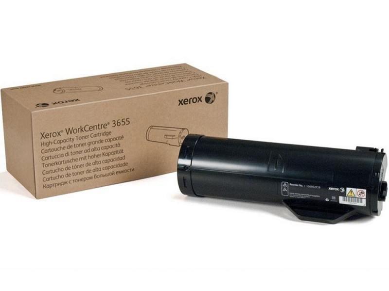 Картридж Xerox 106R02739 для WC 3655 черный 14400стр картридж xerox 106r01531 для xerox wc 3550 черный