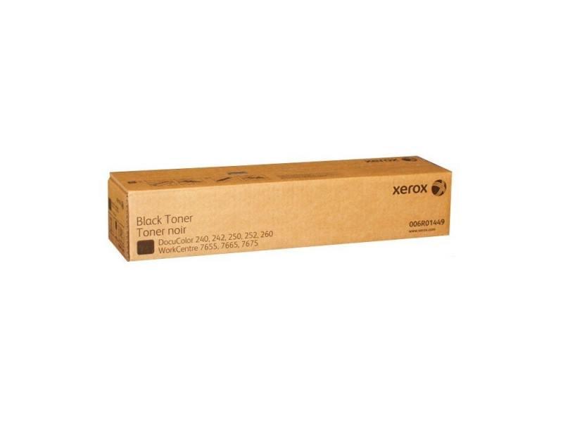 Тонер-картридж Xerox 006R01449 для DC240/242/250/252/WC 7655/7665 черный 2х3000стр тонер картридж xerox 006r01451 для dc 240 250 242 252 wc7655 7665 пурпурный 34000стр