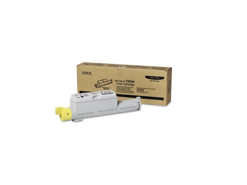 Тонер-Картридж Xerox 106R01220 для Phaser 6360 желтый 12000стр картридж xerox 113r00692 phaser 6120 тонер картридж черный бол емкости