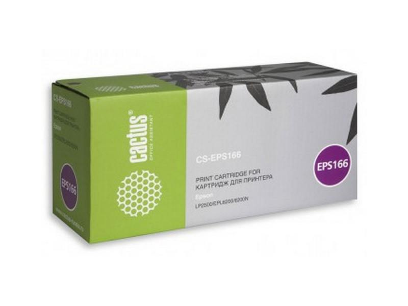 Картридж Cactus CS-EPS166 для Epson EPL6200/6200N LP2500 6000стр фотокондуктор c13s051099 epson для epl 6200 6200l c13s051099