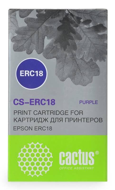 Картридж Cactus CS-ERC18 для Epson ERC 18/Samsung ER4615-R фиолетовый