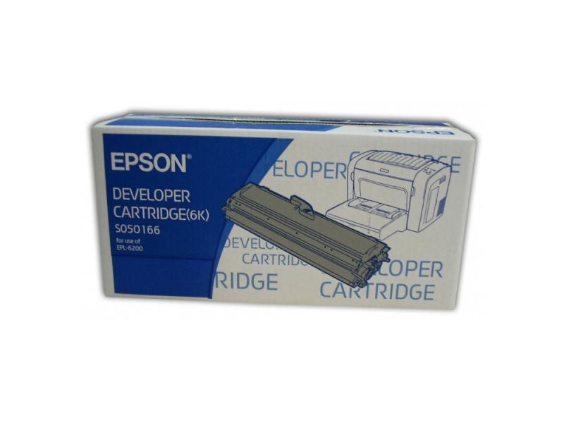 Картридж Epson C13S050166 для Epson EPL 6200 черный 6000стр original cc03main mainboard main board for epson l455 l550 l551 l555 l558 wf 2520 wf 2530 printer formatter