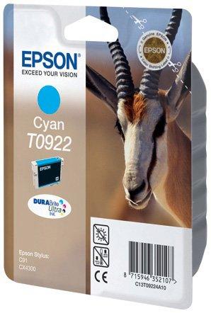 Картридж Epson C13T10824A10 для Epson C91/CX4300 голубой принтер струйный epson l312