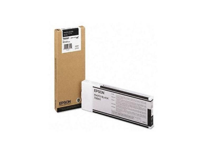 Картридж Epson C13T606100 для Epson Stylus Pro 4880 Photo Black черный картридж epson t1361 black для k101 k201 k301 c13t13614a10 2шт в упаковке