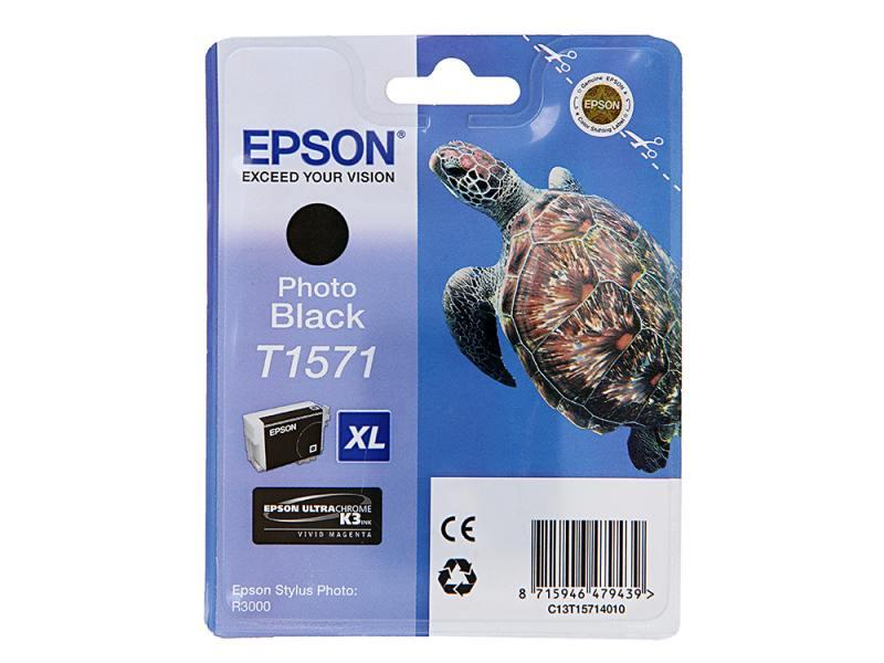 Картридж Epson для Stylus Photo R3000 C13T15714010 Black черный 850стр. Производитель: Epson, артикул: 0458738