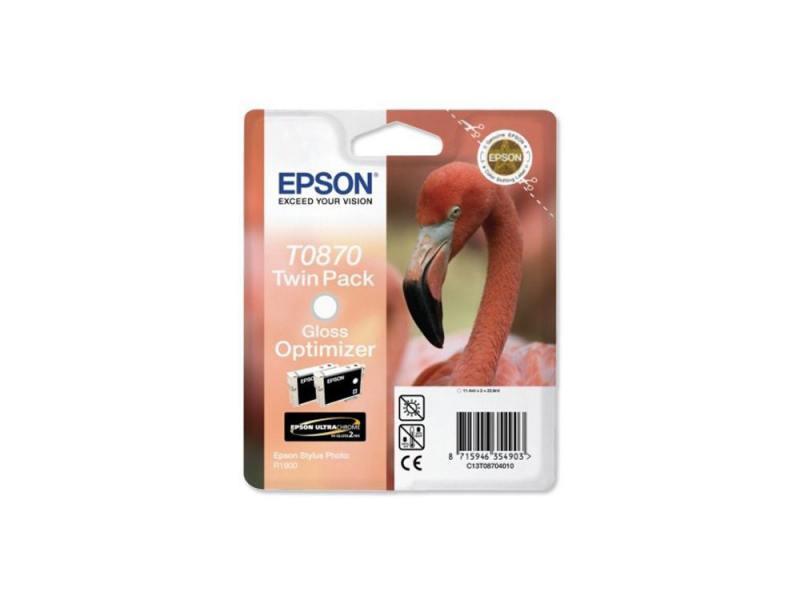 Картридж Epson T087040 для Stylus Photo R1900 Gloss Optimiser Глянцевый картридж epson c13t08724010 для epson stylus photo r1900 голубой
