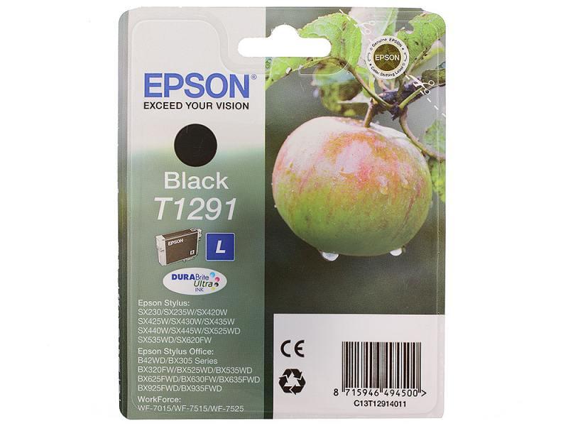 Картридж Epson C13T12914011/C13T12914021 для Epson Stylus SX420/425/525WD/B42WD/BX320FW/BX625WFD/BX original cc03main mainboard main board for epson l455 l550 l551 l555 l558 wf 2520 wf 2530 printer formatter