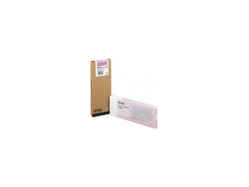 Картридж Original Epson [C13T606600] для Epson Stylus Pro 4880 (220 мл) Vivid Light Magenta картридж epson t6366 vivid light magenta для stylus pro 7900 9900 700 мл c13t636600