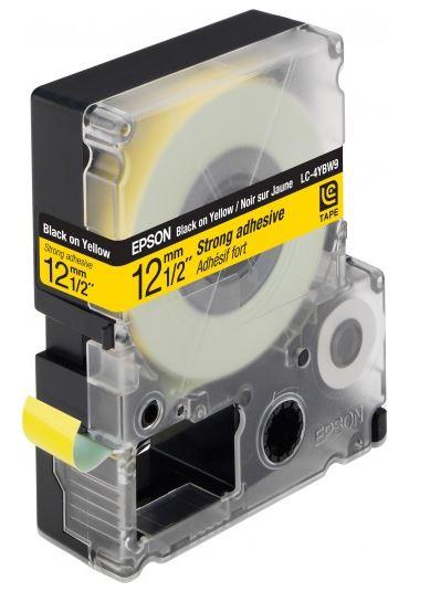 Лента Epson LC-4YBW для Epson LabelWorks C53S654014 original cc03main mainboard main board for epson l455 l550 l551 l555 l558 wf 2520 wf 2530 printer formatter
