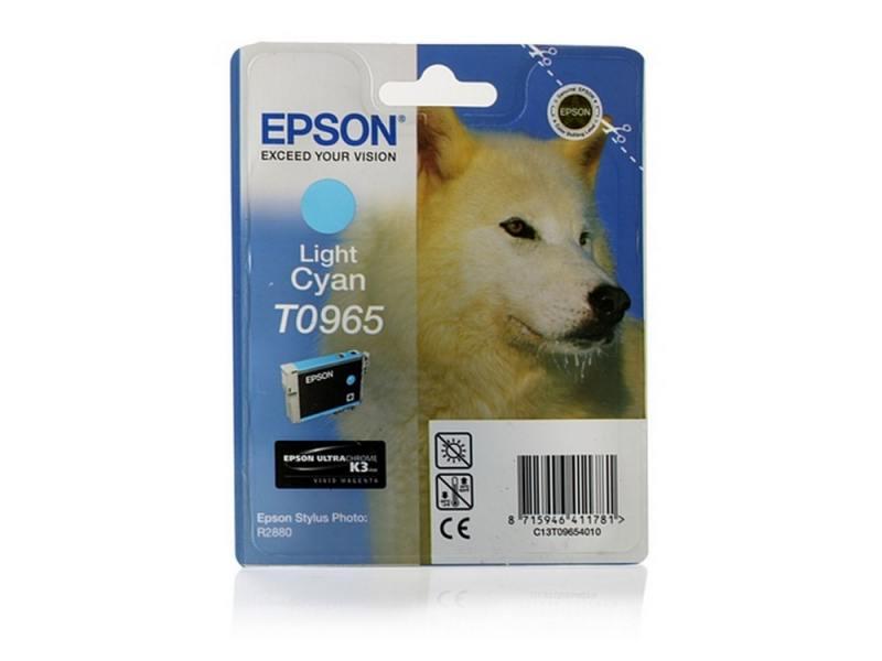 Картридж Epson C13T09654010 для Epson Stylus Photo R2880 светло-синий 1 pc original capping station ink pump assembly for epson artisan 1430 stylus 1410 1400 1390 printer pump