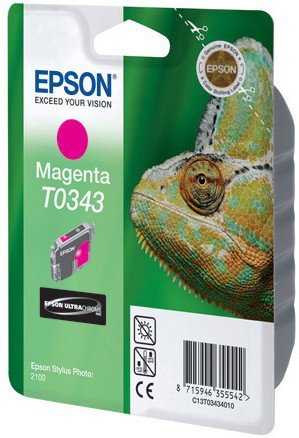 Картридж Original Epson [T034340] для Epson Stylus Photo 2100 Magenta original high quality print head for epson nx430 me570 x430 me570w xp212 xp215 me301 sx440w xp201 wf435 printhead