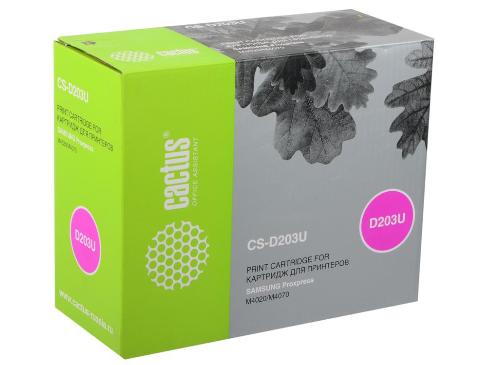 Картридж Cactus CS-D203U для Samsung ProXpress M4020/M4070 черный 15000стр картридж cactus cs c51645 45 черный