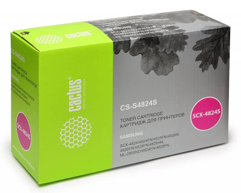 Картридж Cactus CS-S4824S для Samsung SCX-4824FN 4828FN картридж samsung scx 4824 4828 mlt d209l see