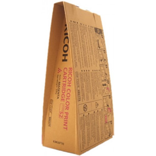 Тонер Ricoh S2 для Ricoh Aficio 3260C Ricoh Aficio C5560 пурпурный 888374 1x ae01 0110 japan fuser film for ricoh aficio mpc2503 mpc3503 mpc4503 mpc5503 fuser belt fixing film sleeve
