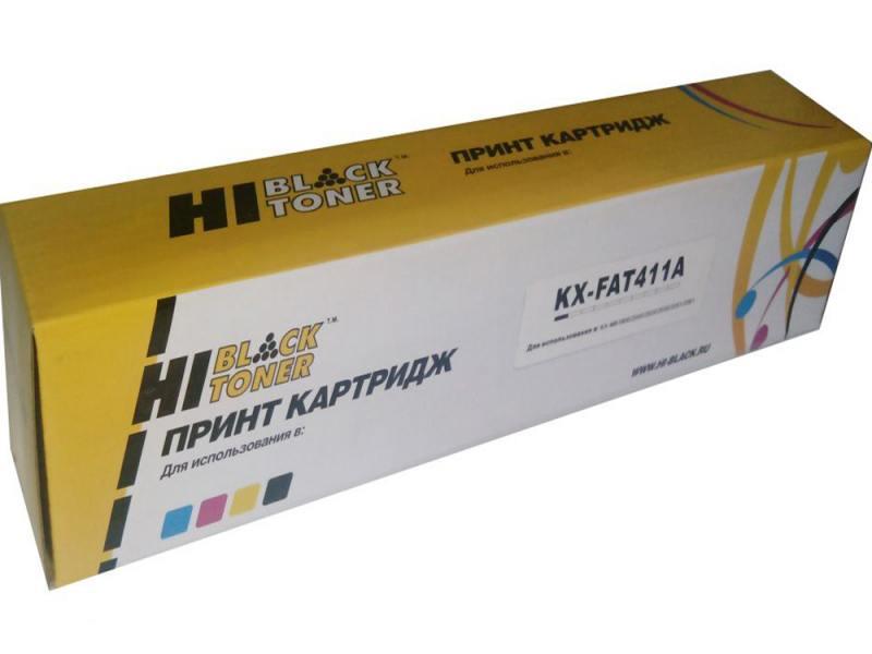 Картридж Hi-Black KX-FAT411A для Panasonic KX-MB1900/2000/2020/2030/2051/2061 pro skit 8pk 2061 6 in 1 slotted precision screwdrivers set black