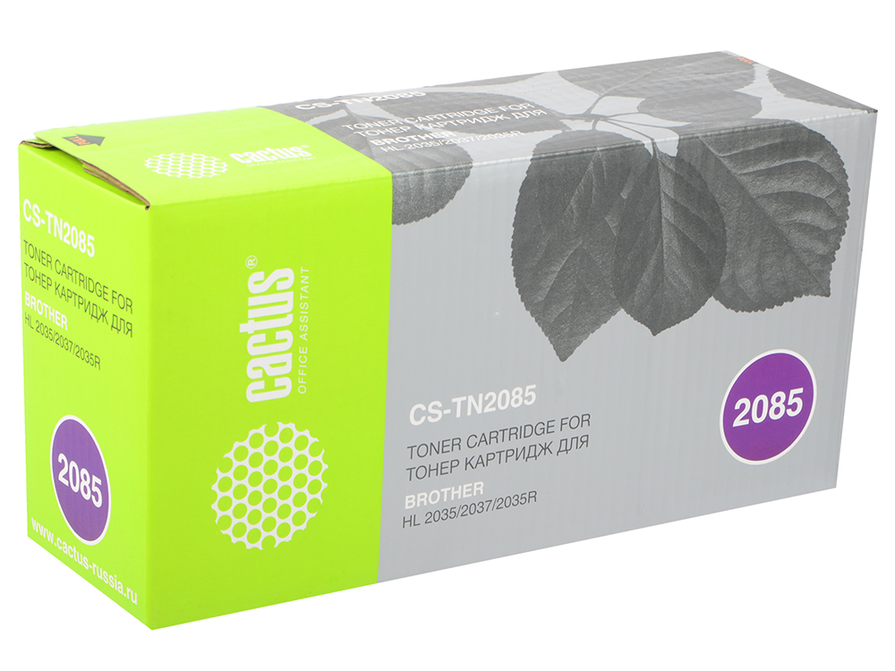 TN-2085 Cactus Картридж (CS-TN2085) для Brother HL-2035R, черный, 1500стр картридж cactus cs s1630 черный