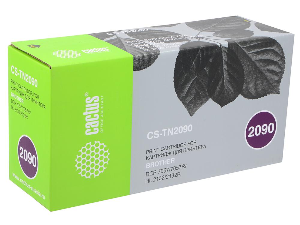 лучшая цена Картридж Cactus CS-TN2090 для Brother HL-2132R DCP-7057R 1000стр