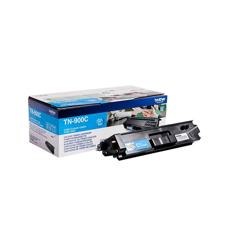 Картридж Brother TN900C голубой 6000стр лазерный картридж brother tn 230c голубой для hl3040 dcp9010cn mfc9120cn