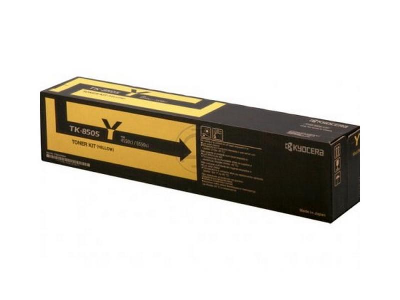 Картридж Kyocera TK-8505Y для TASKalfa 4550ci 5550ci желтый 20000стр картридж kyocera tk 8505k для taskalfa 4550ci 5550ci черный 30000стр