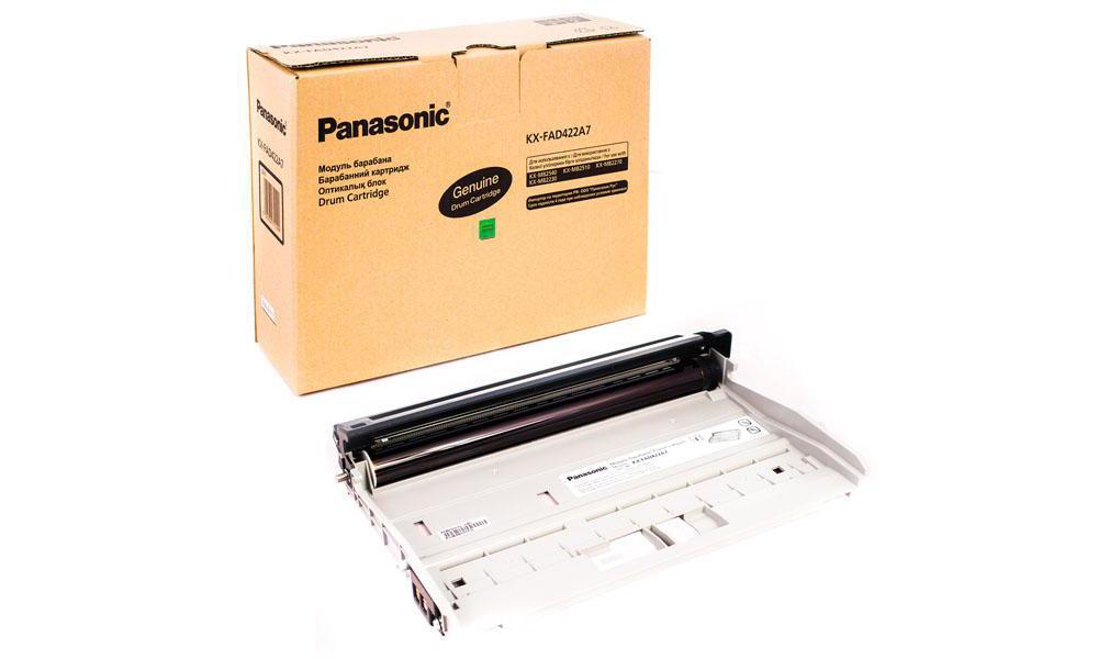 Фотобарабан Panasonic KX-FAD422A7 черный (black) 18000 стр для Panasonic KX-MB2230RU/2270/2510/2540