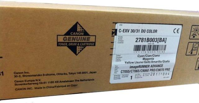 Фотобарабан Canon C-EXV30 цветной (color) 164 000 стр для Canon ADVANCE iR C9060 PRO/С9070 PRO/С7055/7065 фотобарабан canon c exv30 для ir adv pro c9060 c9070 c7055 c7065 черный