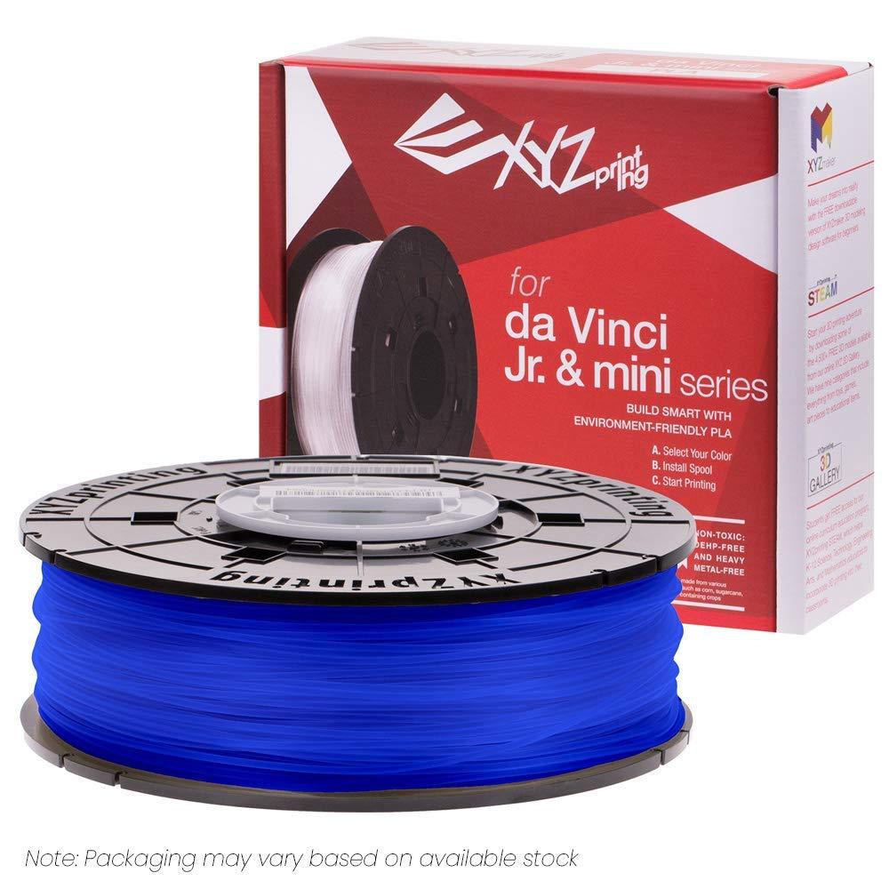 Пластик для принтера 3D XYZ PLA для Junior синий 1.75 мм/600гр RFPLCXEU0DB RFPLC-FPM-PGB-TH-679-0217 пластик для принтера 3d xyz pla натуральный 1 75 600гр rfplbxeu01f rfplb fl8 q6z th 74q s029