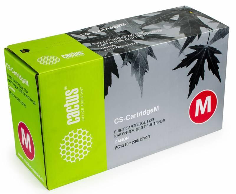 Картридж CACTUS CS-Cartridge M для Canon PC1210 1230 1270D чёрный 5000стр cactus cs cli521y для canon